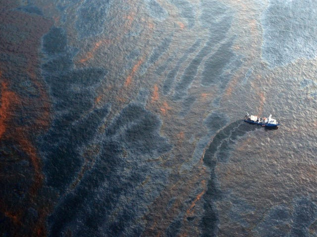 EPA Is Getting Sued Over the Toxic Chemicals Used To Clean Up Oil Spills