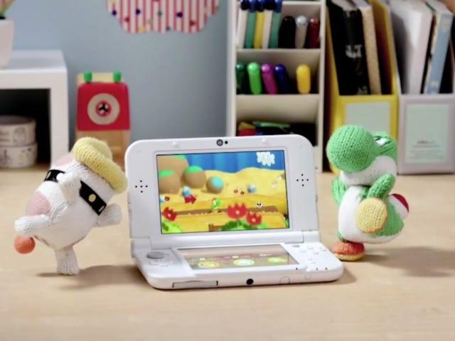 Inanunsyo sa panahon ng Nintendo Direct ngayon, ang Woolly World ni Yoshi ay darating sa 3DS sa ika-3 ng Pebrero
