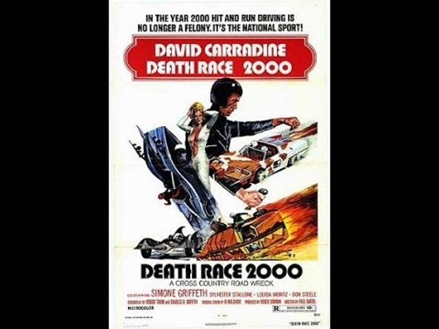 Death Race 2000 has more Female Drivers...