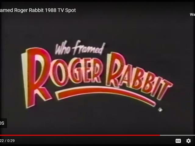Wer hat Roger Rabbit (1988) gerahmt