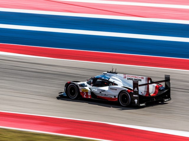 Porsche Gets A 1-2 Finish In Austin WEC Race That Was Insane To The Very End