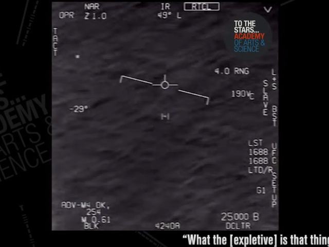 Navy Pilot Who Filmed UFO Describes Moment It Stopped Behaving Within The Normal Laws of Physics