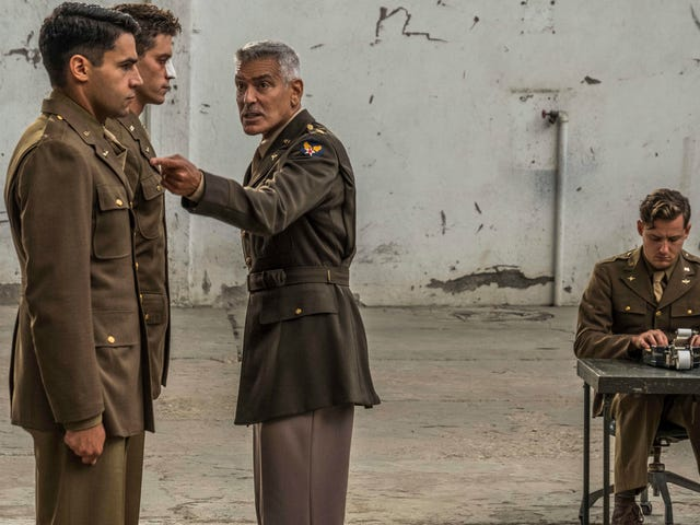 A potent satire has its wings clipped in Catch-22