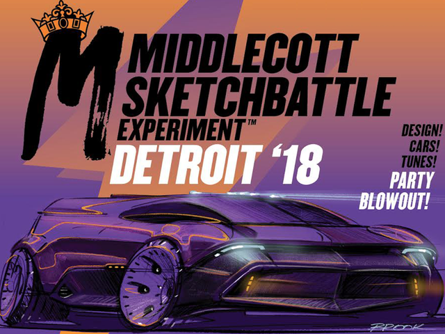 You Should Come To The Sketchbattle In Detroit This Week Because It's For Charity And Also Awesome