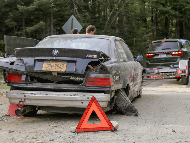 I Crashed My BMW M3 Rally Car