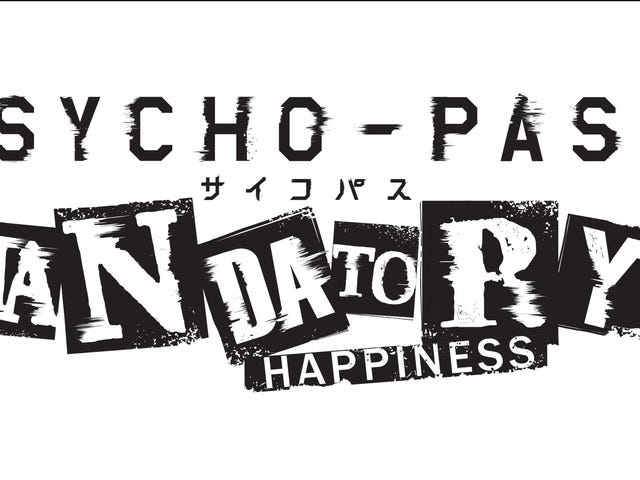 NIS Americas Bringing Psycho-Pass: Mandatory Happiness to West For PSVita, PS4, and PC