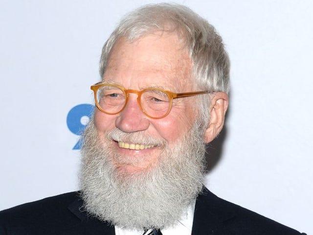 Девід Леттерман і його славна борода приходять до Netflix