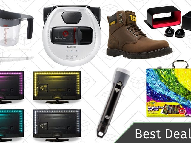 Tuesday's Best Deals: Bias Lighting, Amazon Music Unlimited, Plasma Lighter Flashlight, and More