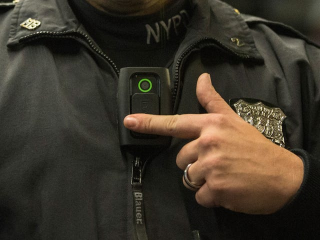NYPD Officer Reportedly Suspended After Recording His Testicles on Body Cam