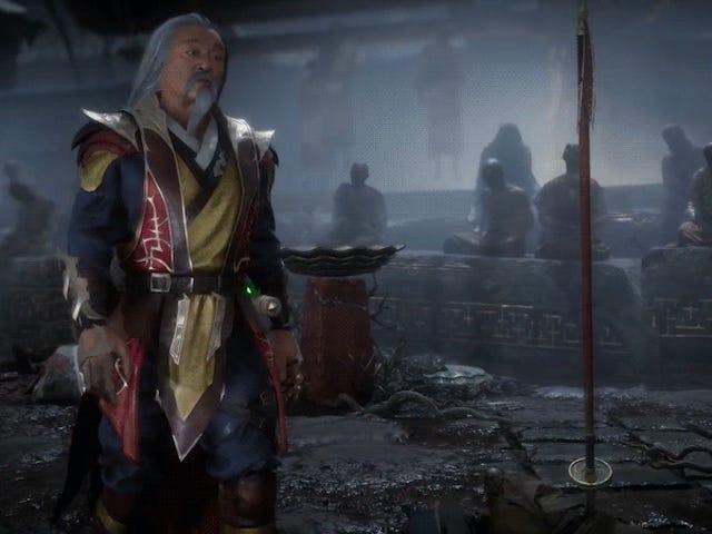Es bueno ver la película de Mortal Kombat Shang Tsung, de nuevo en acción