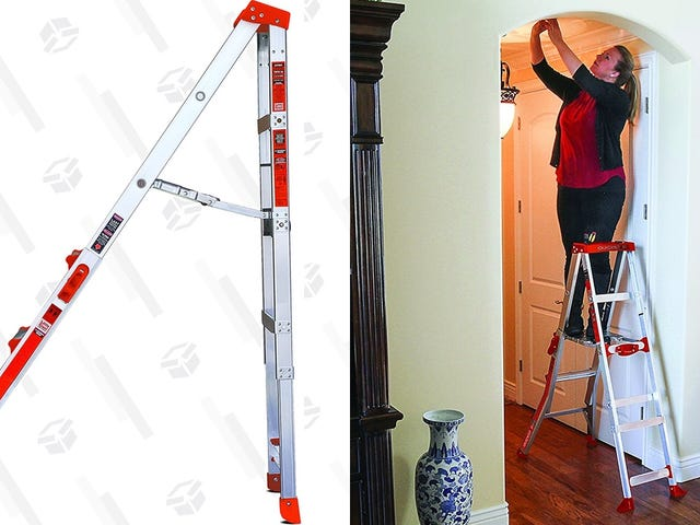 "This Little Giant Ladder Puts the Emphasis On ""Little,"" and It's Only $70"