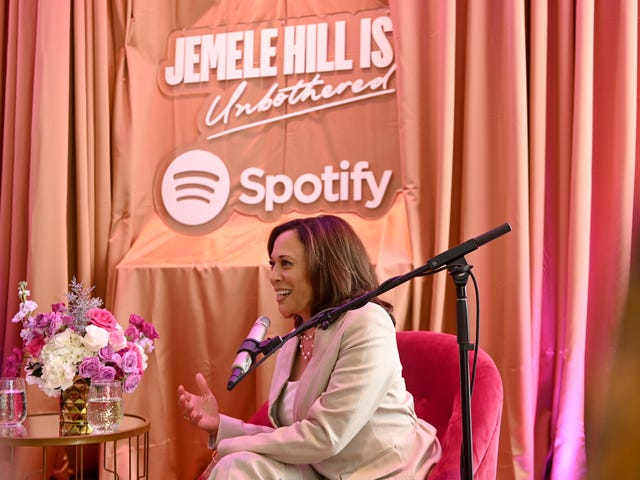 'I'm All About Just Getting Stuff Done': Kamala Harris Gets Political and Personal on Jemele Hill Is Unbothered