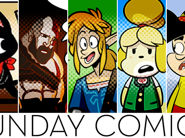 Sunday Comics: Wolf Elf