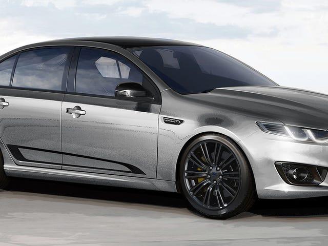Ford 462-Horsepower Ford Falcon XR8 Sprint er et høyt farvel til australsk bilproduksjon