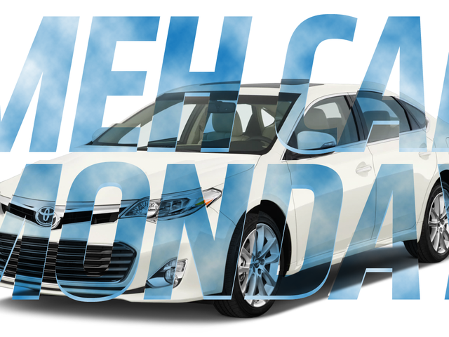 Meh Car Monday: Behold The Tranquil Void Of The Toyota Avalon