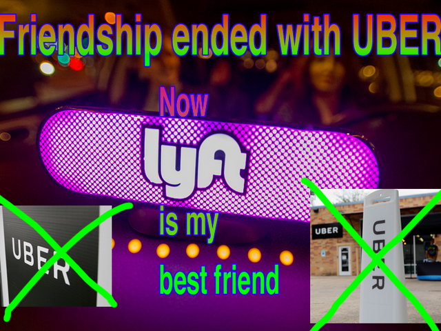 Alphabet Definitively Ends Friendship With Uber, Welcomes New Best Friend Lyft