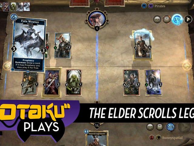Playing The Elder Scrolls Legends, AKA Brown Hearthstone With A Twist