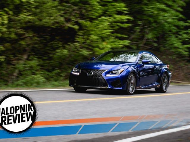 2017 Lexus RC-F: The Jalopnik Review