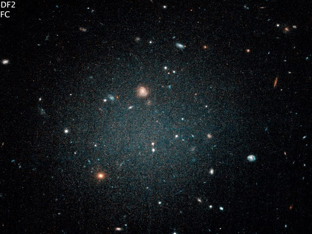 Holy Crap, This Galaxy Has No Dark Matter