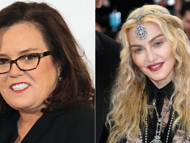 Madonna Defends Her Girl Rosie O'Donnell