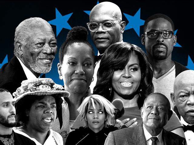 Oprahs gave er hendes tilstedeværelse, stormen er iriserende og Kaepernick vil holde dig gætte: 2020 præsidentens sort magt placering, uge 22