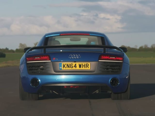 Ito ba ang Drag Race Para sa Ganap na Audi R8 Superiority
