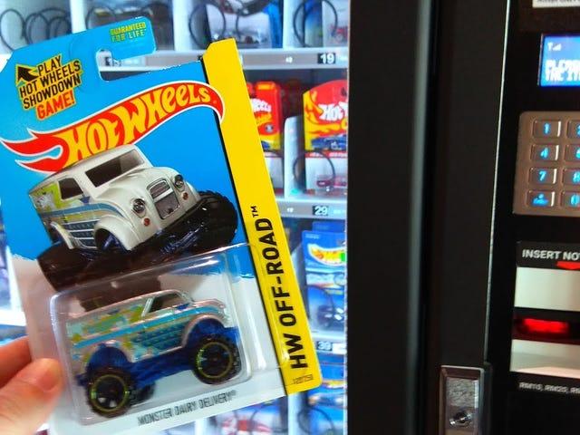 Hot Wheels Vending Machine.