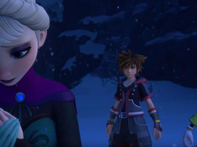 Disney's Frozen Is A World In Kingdom Hearts III