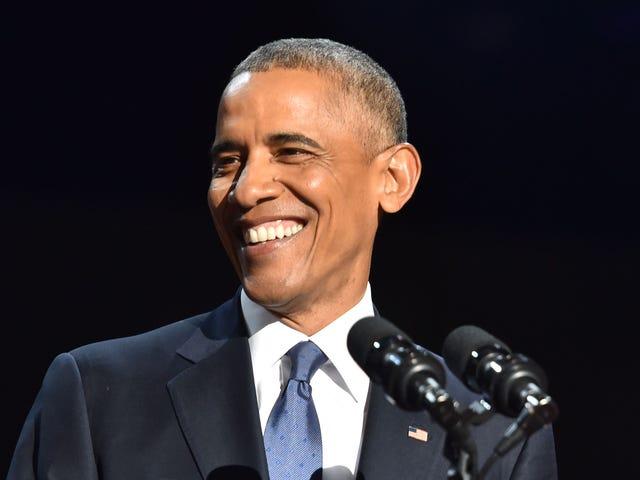 Ο Πρόεδρος μας είχε όλα τα δάκρυα κατά τη διάρκεια της διεύθυνσής του #ObamaFarewell