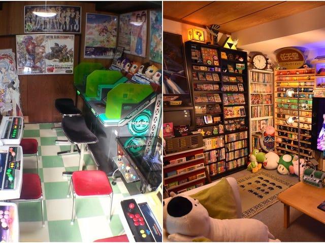 Inside Japan's Coolest Video Game Rooms