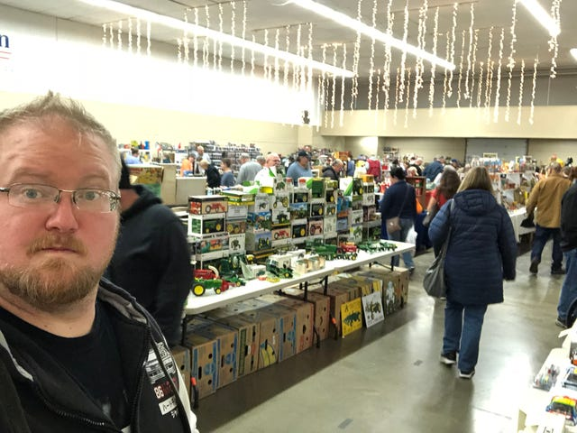 Toy Show in Jackson, Michigan
