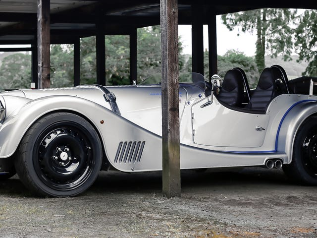 Is The Speedster Plus 8 The Coolest Morgan Ever Made?