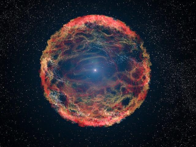 Esta estrella que murió dos veces explotando en dos supernovas sucesivas desconcierta a los astrónomos