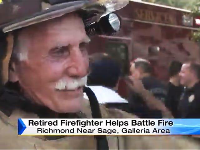 Huyền thoại Lính cứu hỏa Lũ ra khỏi Hưu Trí Để Trận Một Blaze cuối