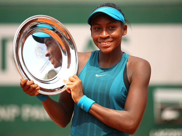 Cori 'Coco' Gauff Becomes Youngest Girls' Tennis Champion in 24 Years