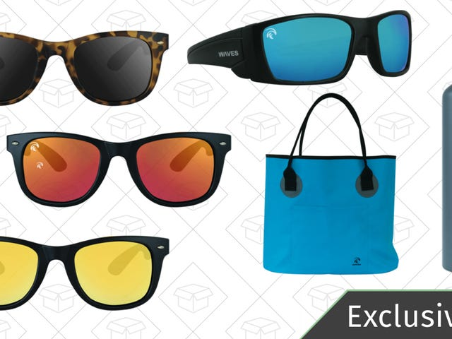 At 60% Off, WavesGear's Floating Sunglasses Are A Gift That Keeps On Giving
