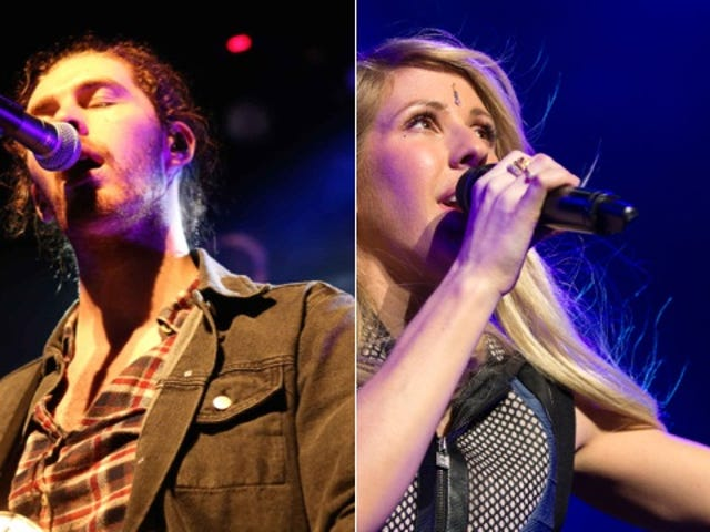Here's Ellie Goulding on an Ice Queen Cover of 'Take Me To Church'