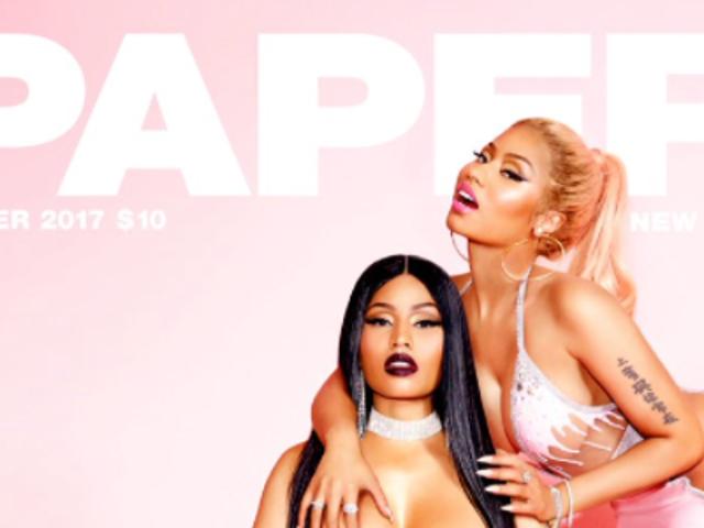 Şimdi bu Nicki Minaj dergisinin kapağını onaylayalım