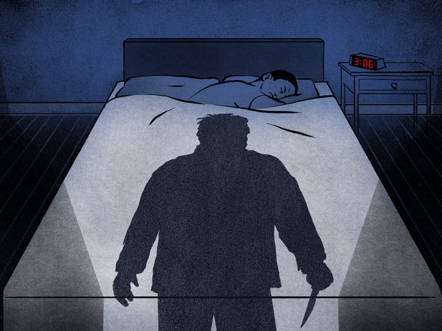 Wyimaginowany Morderca, który pomaga mi zasnąć