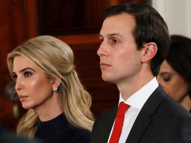 I'm So Glad Jared And Ivanka Are Miserable In Washington D.C.
