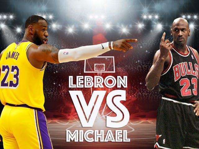 LeBron James Is Better Than Michael Jordan, Regardless Of His Finals Record