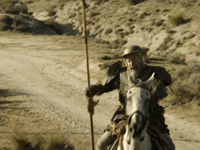 <i>The man who killed Don Quixote</i> трейлер: так само, як і місце, і делісіаса Локура де Террі Гілліам