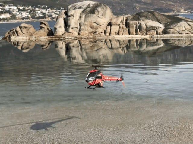 Este pequeño helicóptero RC podría formar parte de un capítulo terrorífico de Black Mirror