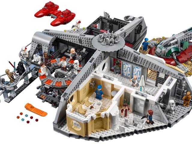 เลโก้มอบอภิสิทธิ์ให้แก่ Lando ในเมืองที่มีเมฆเป็นจำนวนมากถึง 2,800 ชิ้นที่เขาสมควรได้รับ