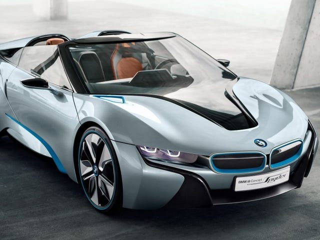 Why Yes I Would Love A BMW i8 Roadster If BMW Were To Make One (Which It Probably Will Soon)