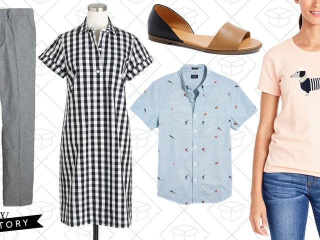 This Extra 40% Off Sale On J.Crew Factory's Massive Clearance Section Has Everything