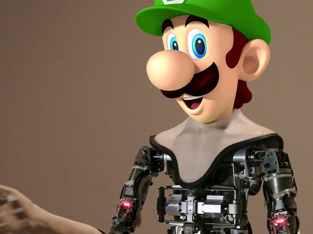 Just My Opinion: The Company Offering $130,000 for the Perfect Robot Face Should Choose Luigi