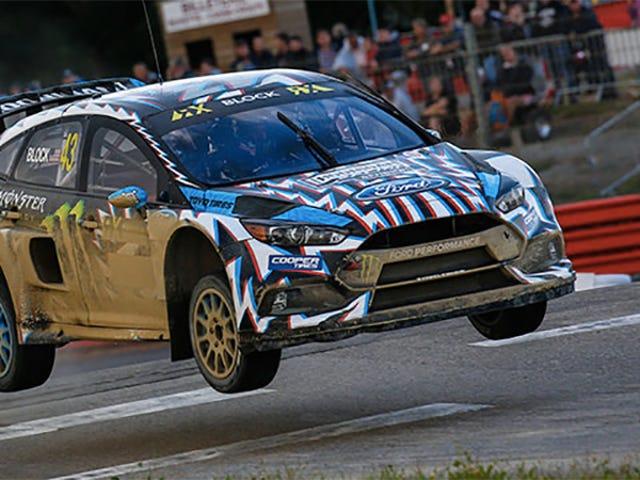 Ford y Hoonigan Racing están cediendo en el World Rallycross