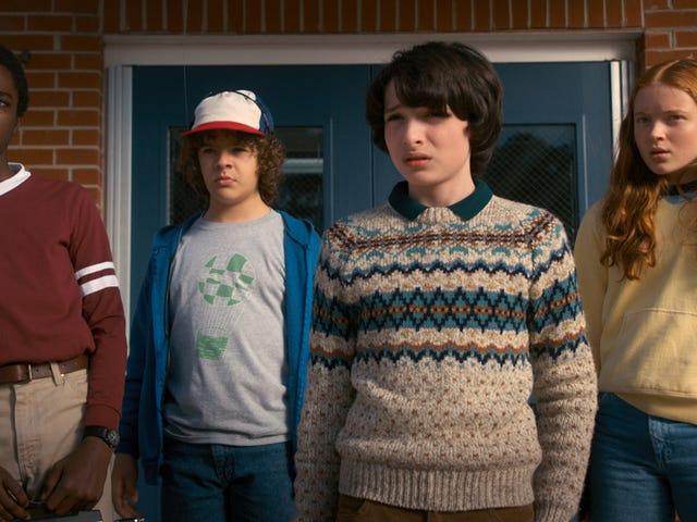 Ingen podía ser de otra manera: Netflix bekräftar det Stranger Things tendra tercera temporada.  Ya es oficial, Netflix ha anunciado ...