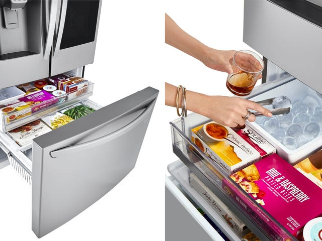 LG Wants You to Replace Your $10 Ice Sphere Tray With a $4,400 Fridge